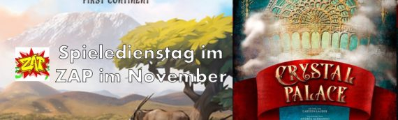 Spieledienstag im ZAP – November